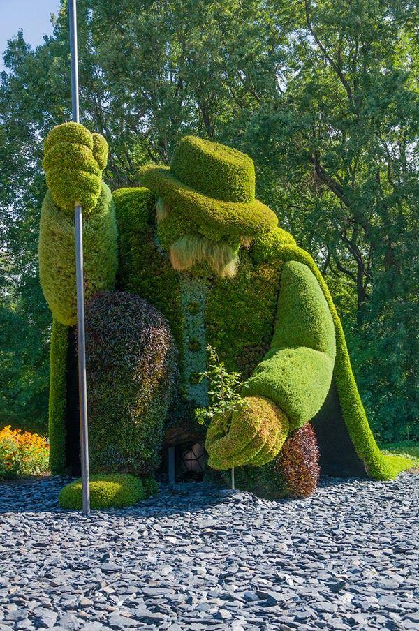 Vitajte v Montreale botanickej záhrady v Quebec, Kanada, ktorá bola založená v roku 1931, kedy mimoriadnej tematické záhrady, aby aj virtuálne návštevník pocit, ako keby sa prechádzal sna.  9602910243_306d117c3c_b
