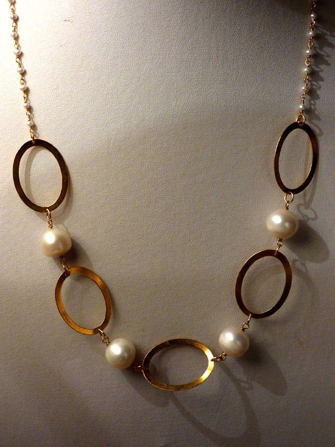 Girocollo rosario e perle