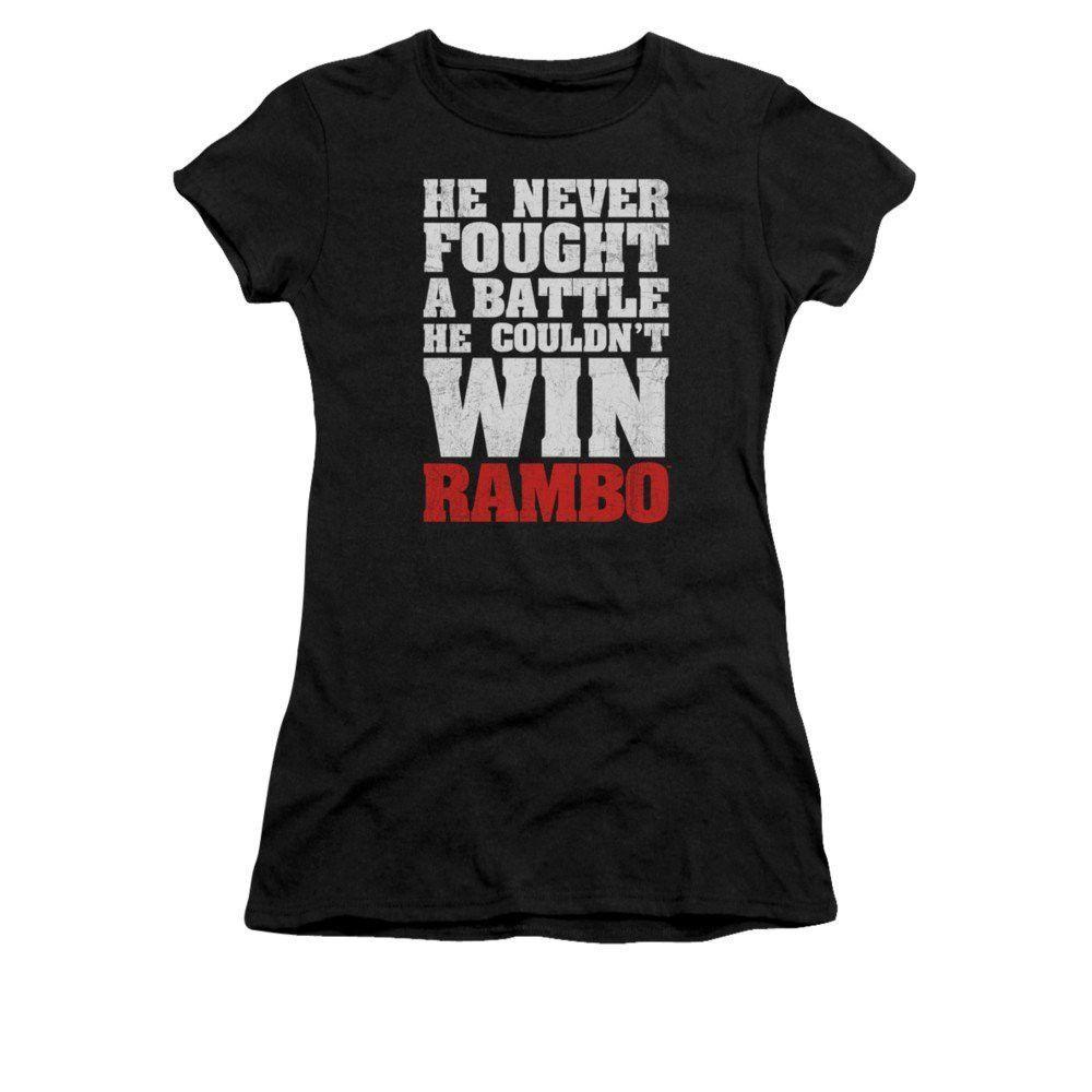 Rambo:first Blood - He Never Junior T-Shirt