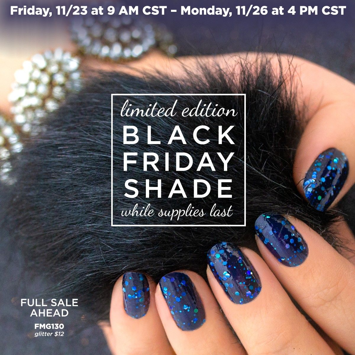 Black Friday Shade! While supplies last! Check out my Link