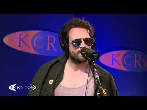 "Father John Misty performing ""Hollywood Forever Cemetery Sings"" on KCRW"