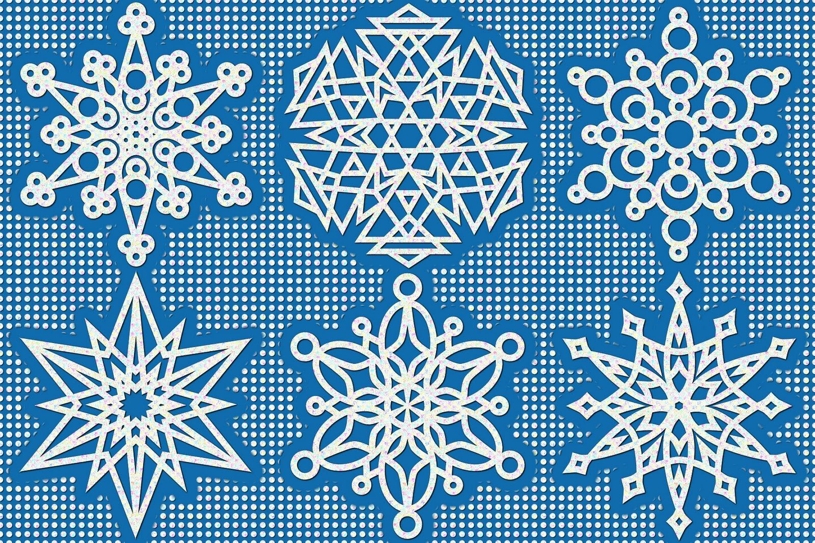 A half dozen snowflakes to color | Pinterest | Printable box ...