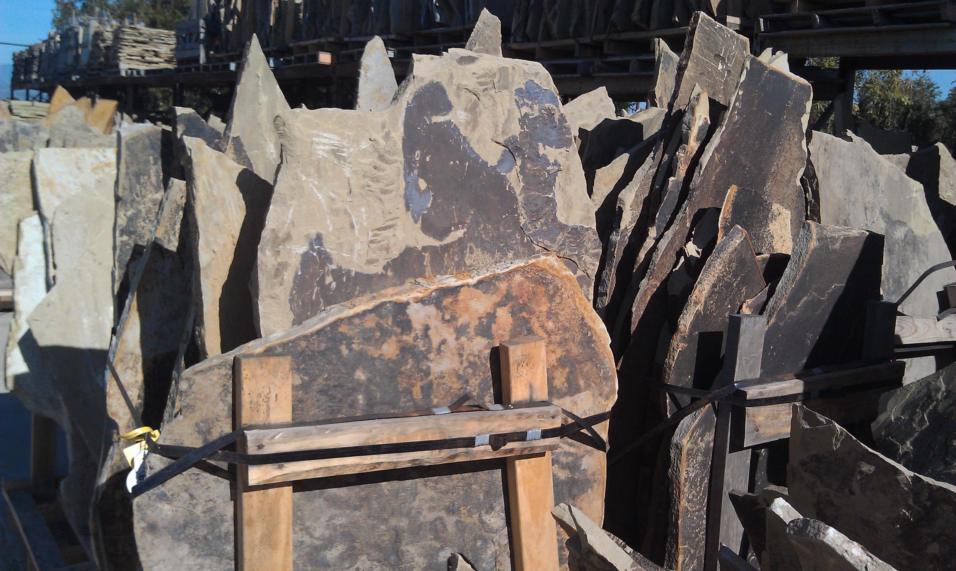 Flagstone at Prime Masonry Materials. Oxnard,CA