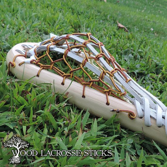 Wooden Box Lacrosse Stick White By Woodlacrossesticks On
