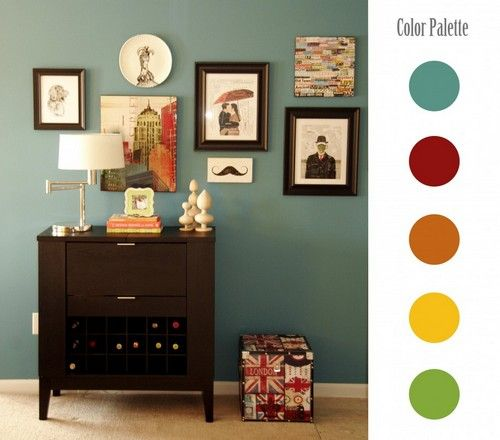 23 color palettes in interior designs for the home pinterest