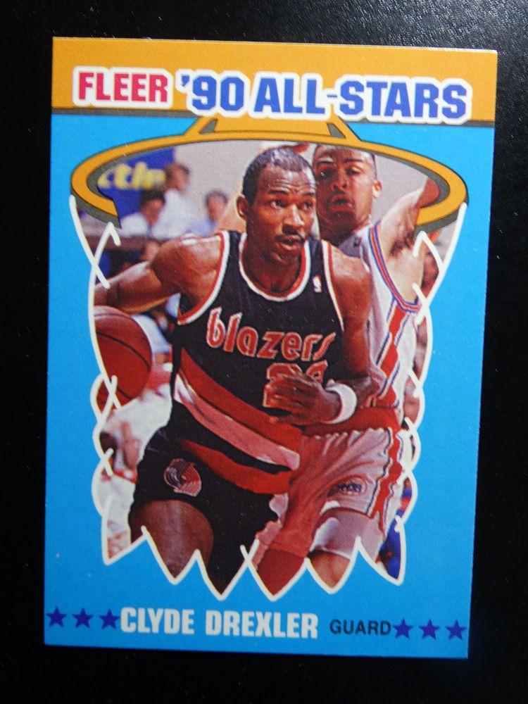199091 Fleer 11 Clyde Drexler Portland Trail Blazers