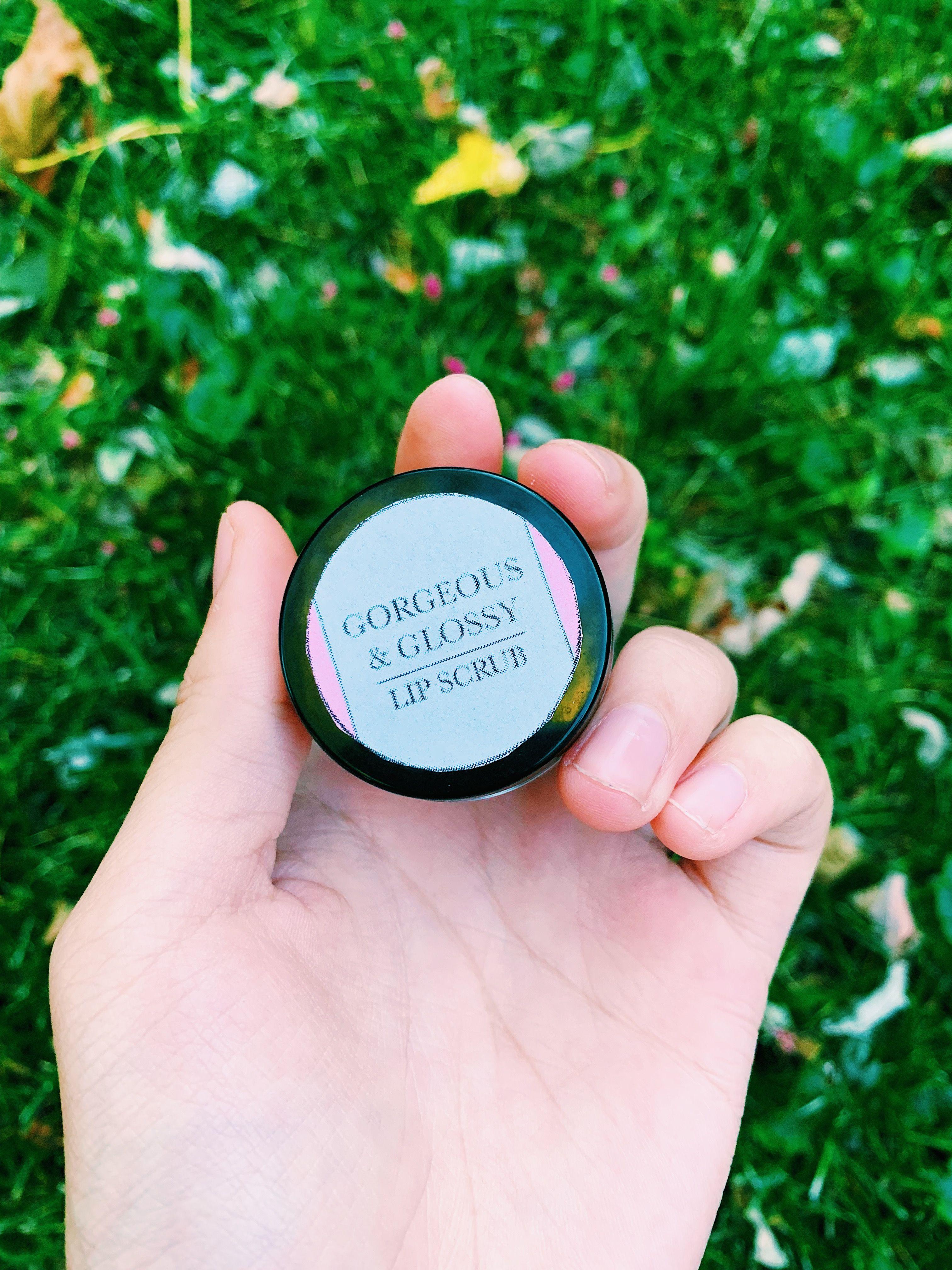 Rose Lip Scrub | Gorgeous and Glossy #lipscrubs