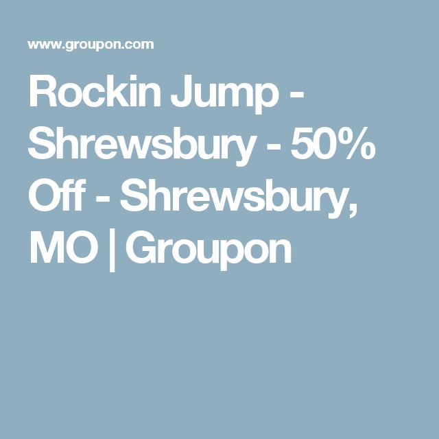 rockin jump shrewsbury 50 off shrewsbury mo groupon