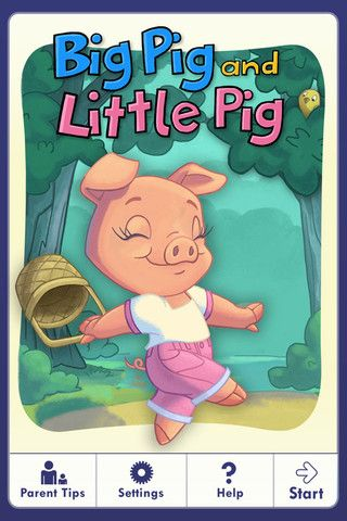 Big Pig and Little Pig Abc mouse, Little