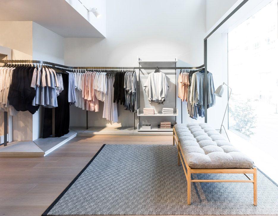 Blackened Cedar Planks Cover The Facade Of COS Toronto Store Cos StoresStore LayoutBoutique InteriorStore DesignRetail