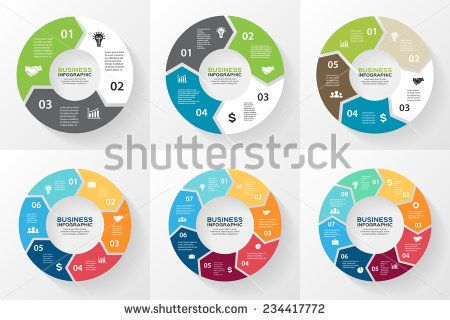 Vector circle arrows for infographic template for cycling diagram vector circle arrows for infographic template for cycling diagram graph presentation and round chart business concept with 3 4 5 6 7 8 options ccuart Choice Image