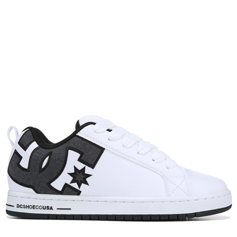 DC Men/'s Court Graffik Shoes Walking Skateboard Shoes