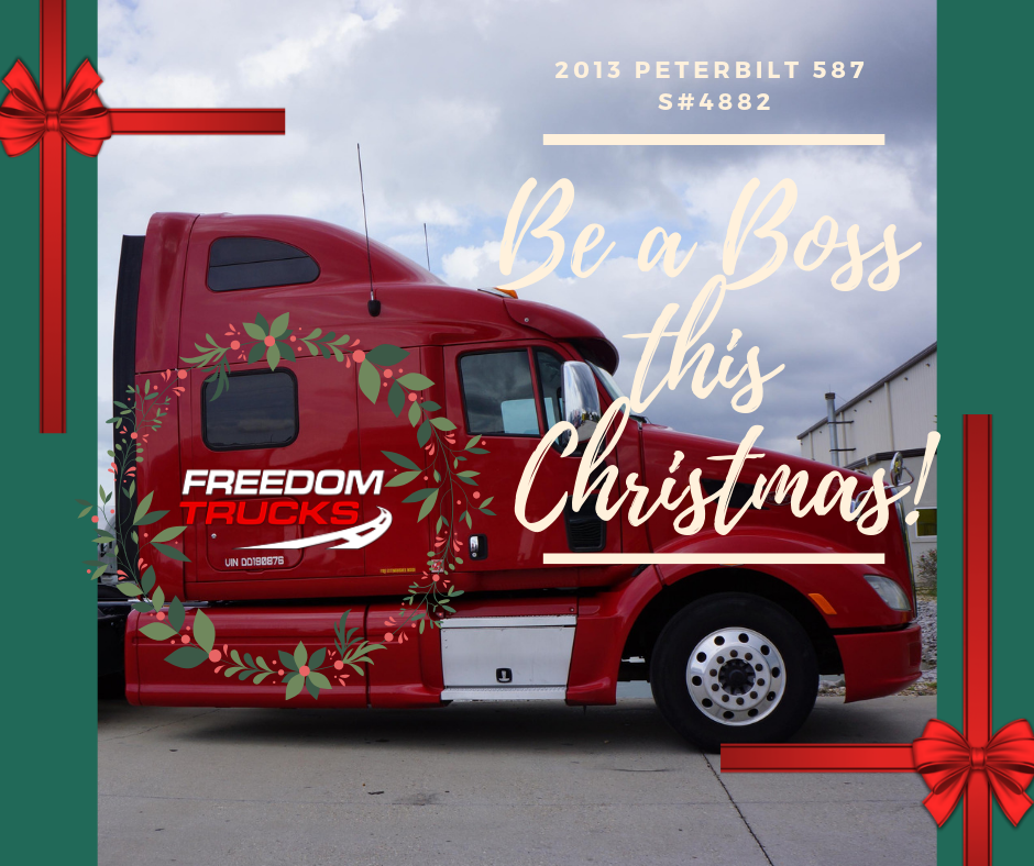 Freedom Trucks Can Also Help You Fulfill Your Dream Of Being A Driver Use Our Easy Qualifier Program And Make Your Dreams Come T Trucks Peterbilt Be The Boss