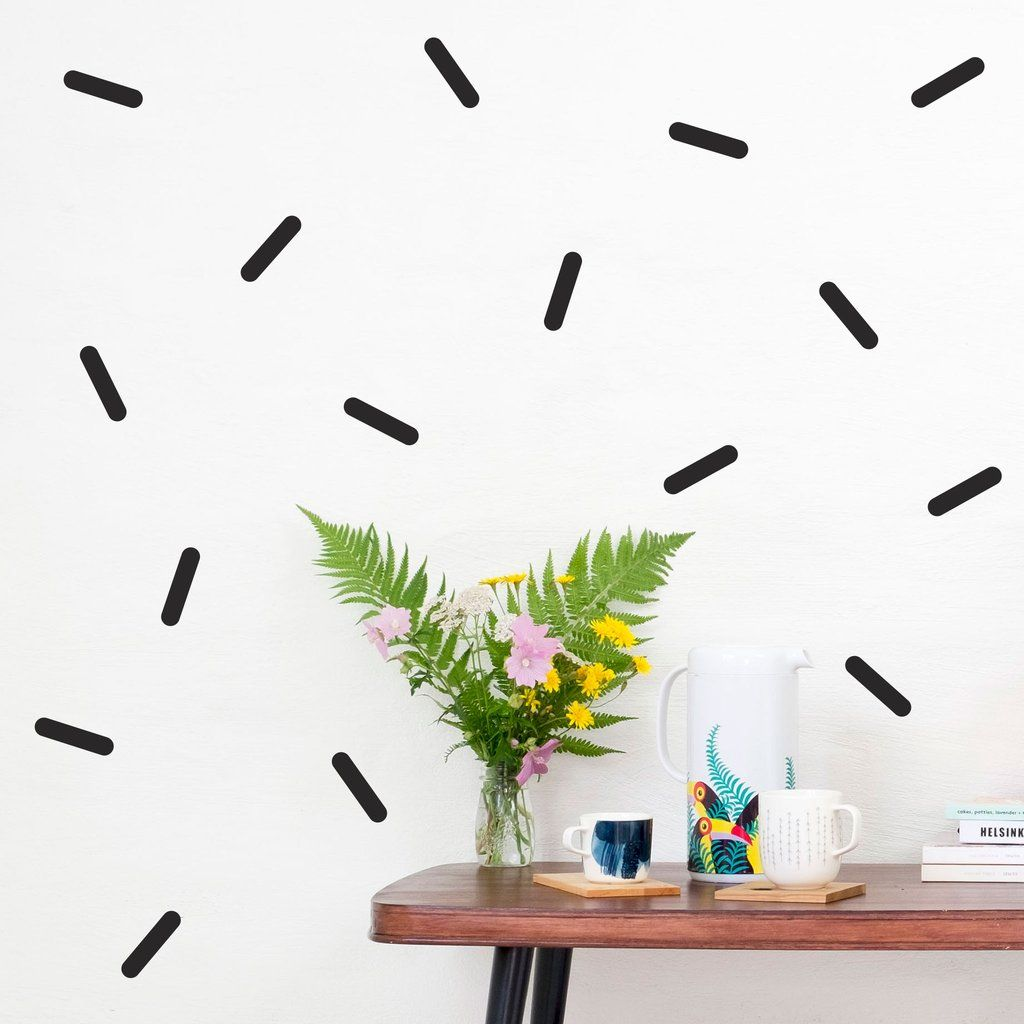 Sprinkles Wall Stickers In 2020 Wallpaper Stickers Wall Wall