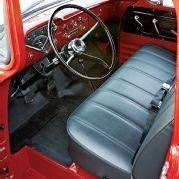 1958 Chevy Apache Pickup Truck Custom Leather Interior Photo 3
