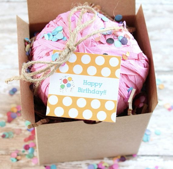 Happy Birthday Surprise Gift Ball Party Favors Favor Balls Gifts Send A