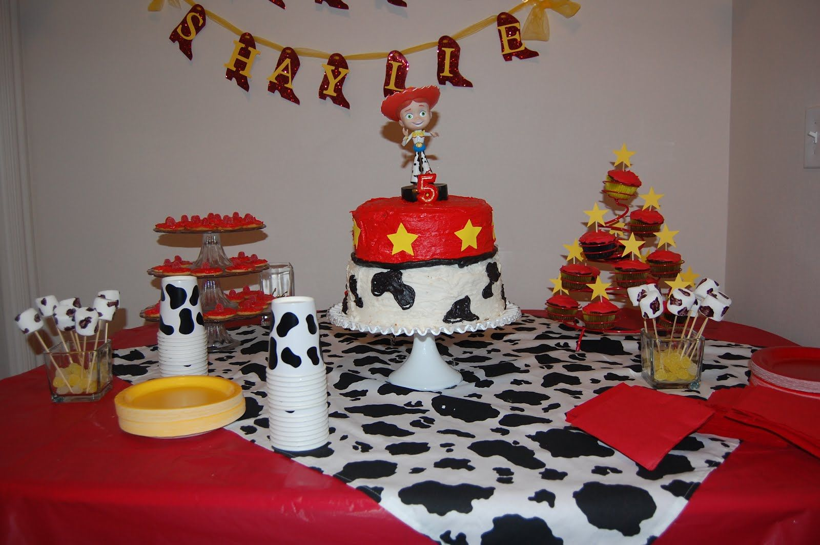 Jessie From Toy Story Party Adi Girl Pinterest Toy Story