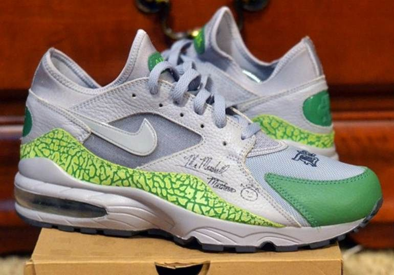 """a2db884bf5 The History of Eminems Signature Sneakers - Charity Nike Air Max 93 """"D12"""" –  2006"""