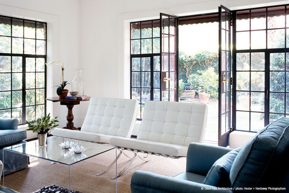 cool and modern, barcelona chairs | Dream a little dream home ...