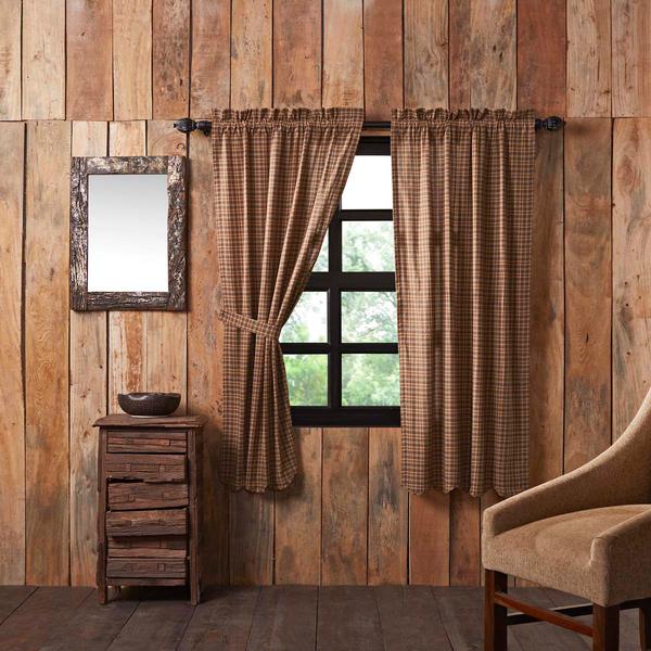Prescott Panels Vhc Brands Rustic Curtains Curtains