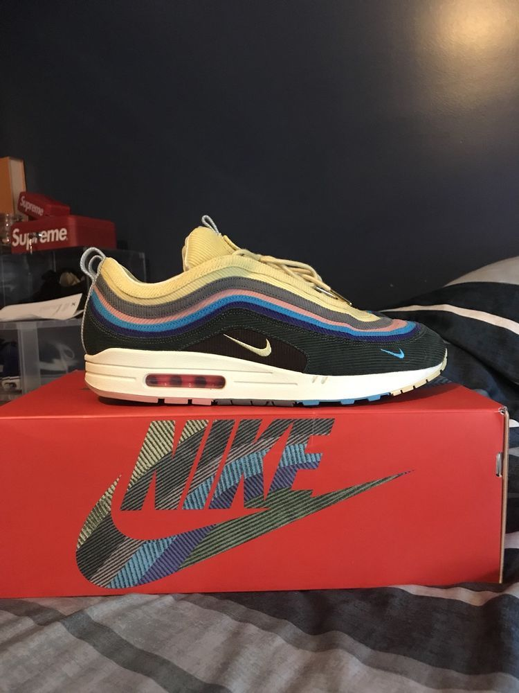 wholesale dealer 3afbd c0504 Nike Air Max 1 97 VF SW Sean Wotherspoon AJ4219-400 Sz 13  fashion   clothing  shoes  accessories  mensshoes  athleticshoes (ebay link)