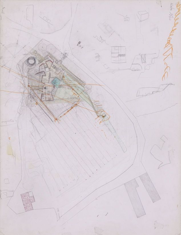 The unpublished working drawings of Carlo Scapas last completed – How To Draw Site Plan