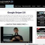 I've learned a lot about internet marketing from the Google Sniper tutorial.  Read my review