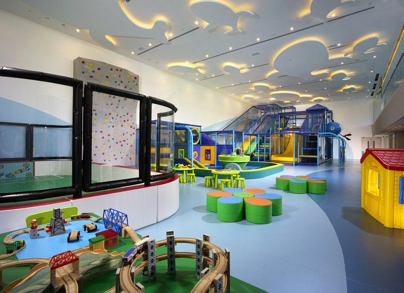 Playground, toddler area and toddler rink - great phoot of our ...