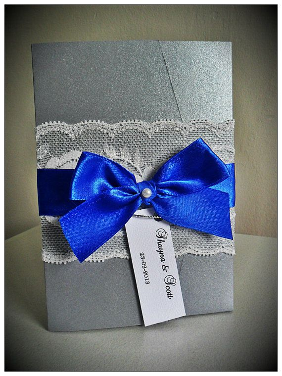 cobalt blue wedding invitations | wedding ideas | pinterest, Wedding invitations
