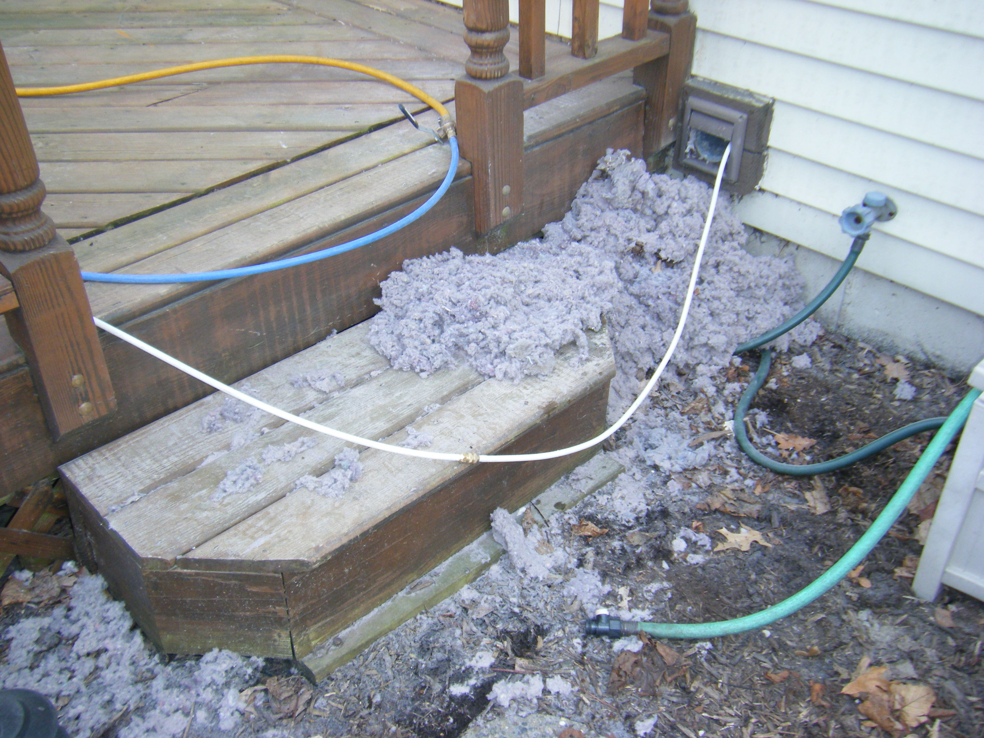 Dryer Vent Clean Annually Clean air ducts, Clean dryer