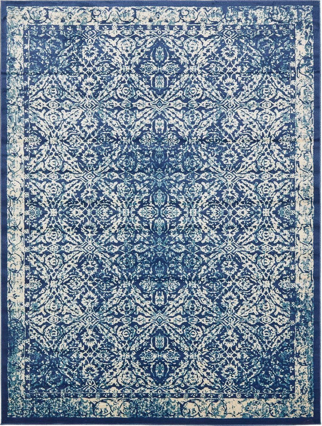 Navy Blue 10 X 13 Stockholm Rug Area Rugs Esalerugs Blue Area Rugs Area Rugs Rugs In Living Room