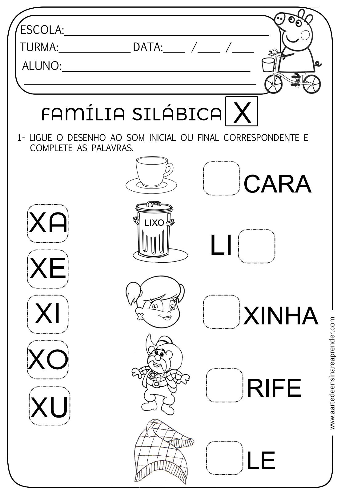 atividades de alfabetização para educação infantil que fala sobre