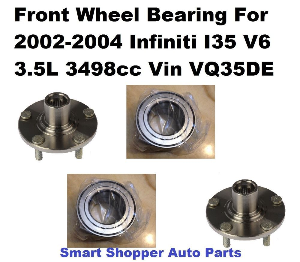 Front Wheel Bearing 1994 Integra Civic Del Sol 1992-2005 Honda Civic with ABS,