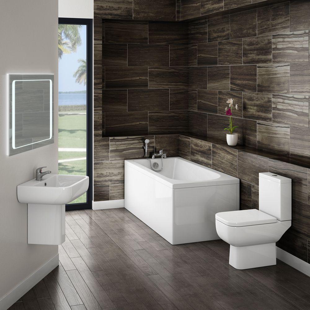 Minimalist Modern Bathroom Suite