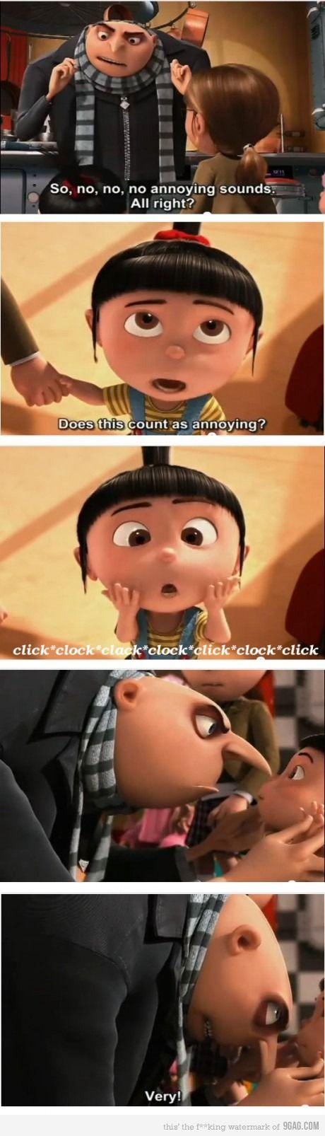 Despicable Me No Meme : despicable, Despicable, Agnes, Funny