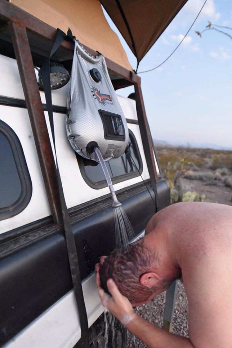 Photo of Wash up with a Solar Outdoor Shower for Camping