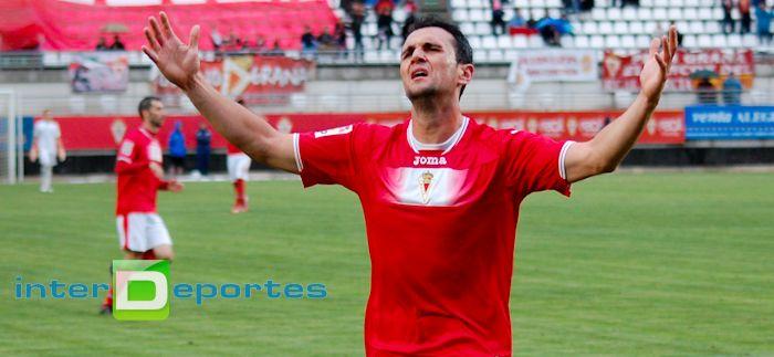 Kike garcia 1 El Real Murcia no sale del descenso. 2   0.