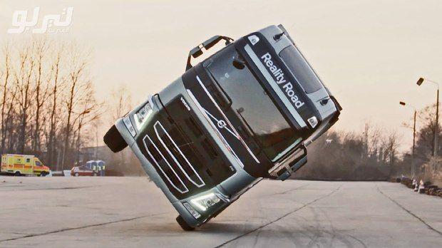 فيديو اختبار قيادة الشاحنات في روسيا هل يمكن لأحد أن يقود مثله Arabsturbo Volvo Trucks Volvo Trucks