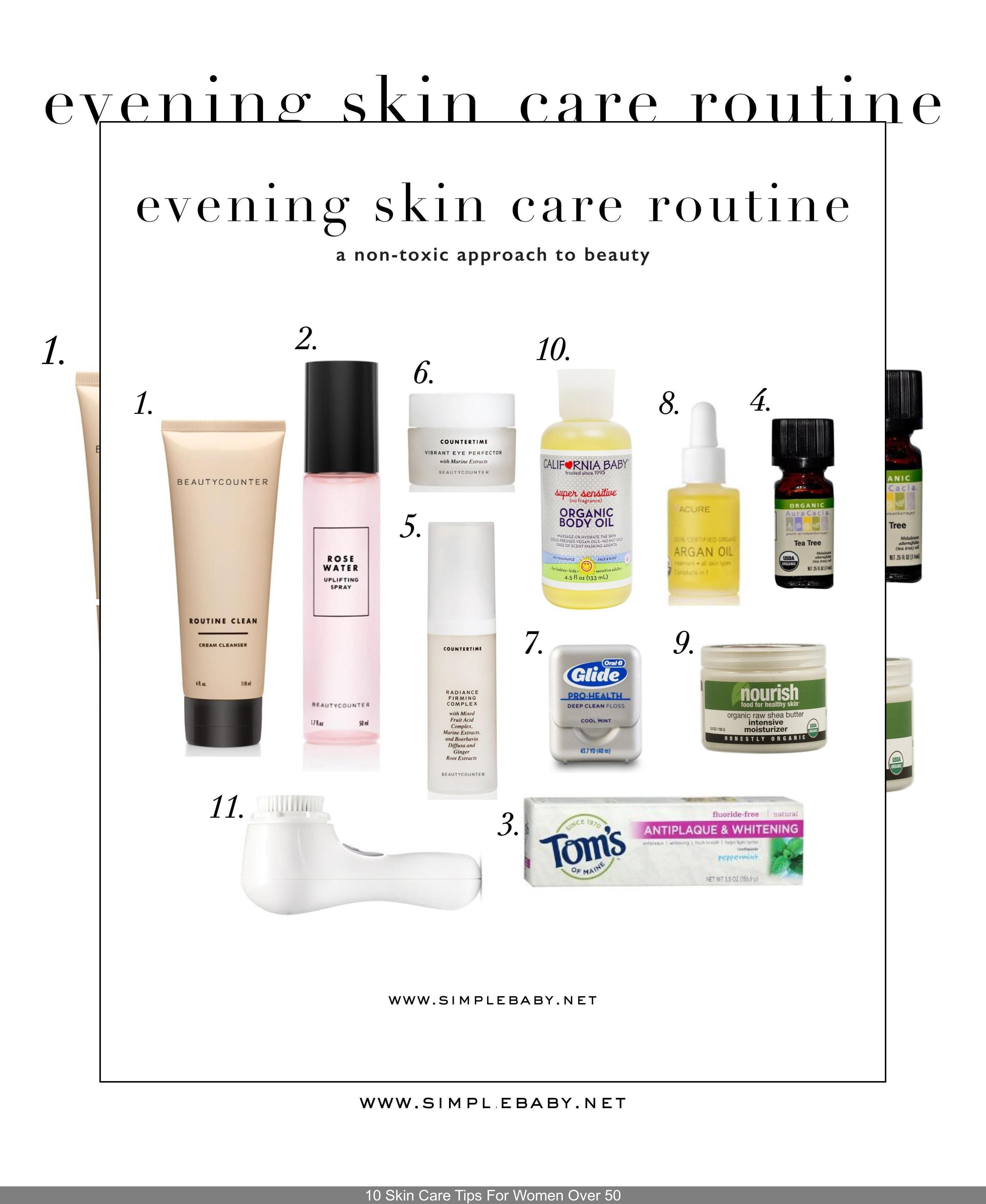 Best Skin Care Regimen For 50s Best Skin Care Products For Women In Their 30s Best Face Cream For Lat In 2020 Natural Skin Care Evening Skin Care Routine Skin Care