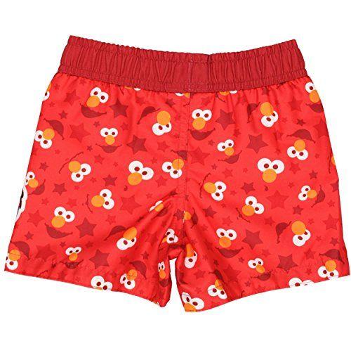 87f0200d0e Sesame Street Elmo Boys Swim Trunks Swimwear (Baby) | Boys | Boys ...
