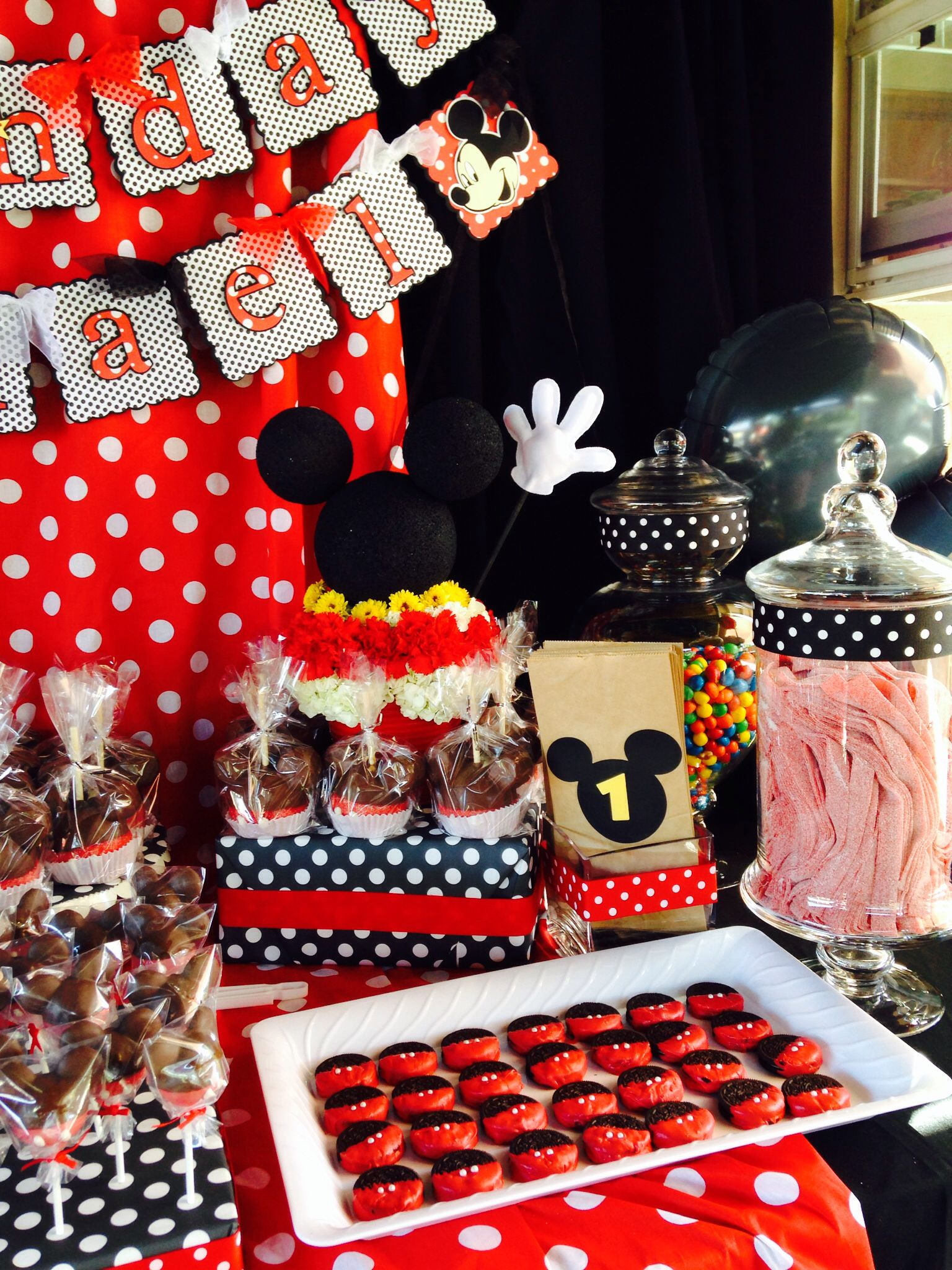 Mickey Mouse Birthday Party Theme Candy Buffet Parties Ive