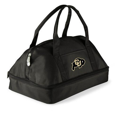 University of Colorado Insulated Two-Tiered Potluck Casserole Tote