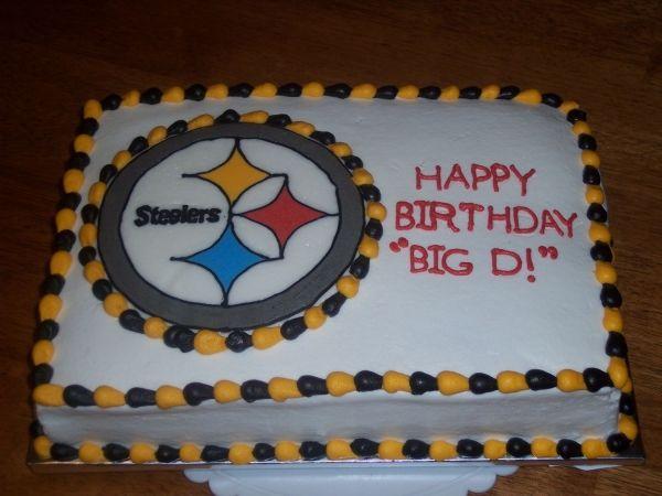 Steelers Birthday Food Pinterest Birthdays Cake and Birthday