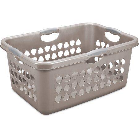 Sterilite 2 Bushel 71 L Ultraa Laundry Basket Taupe Splash