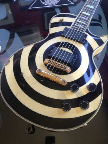 Zakk Wylde S 5 Favorite Les Pauls Zakk Wylde Les Paul Gibson Custom Shop