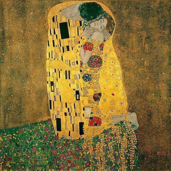 'El beso' de Gustav Klimt