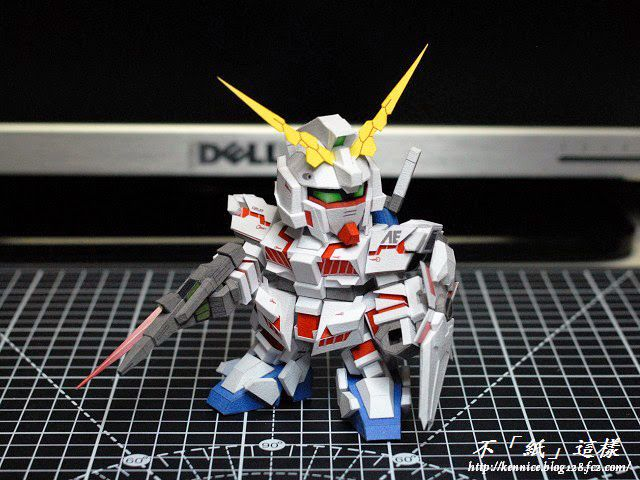 【WXY】SD RX-0 Unicorn Gundam Destroy Mode