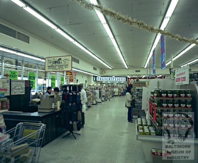 Giant Foods, Baltimore, MD 1970 | Vintage Retail | Giant