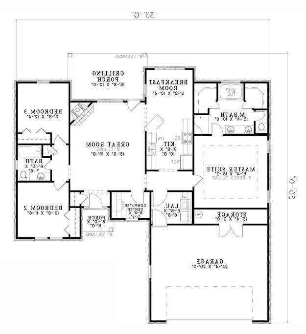 New Plans House Plans From Better Homes And Gardens House Plans How To Plan Computer Room