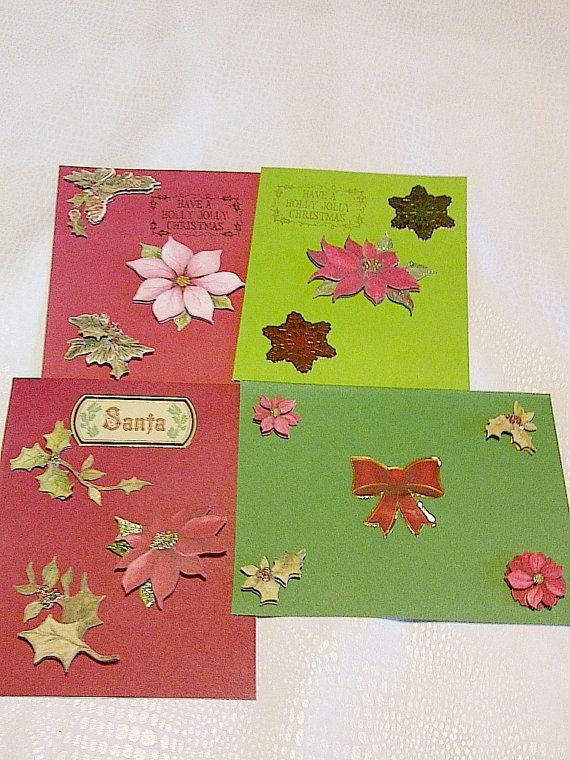 Handmade Christmas Cards by ministercoleman on Etsy